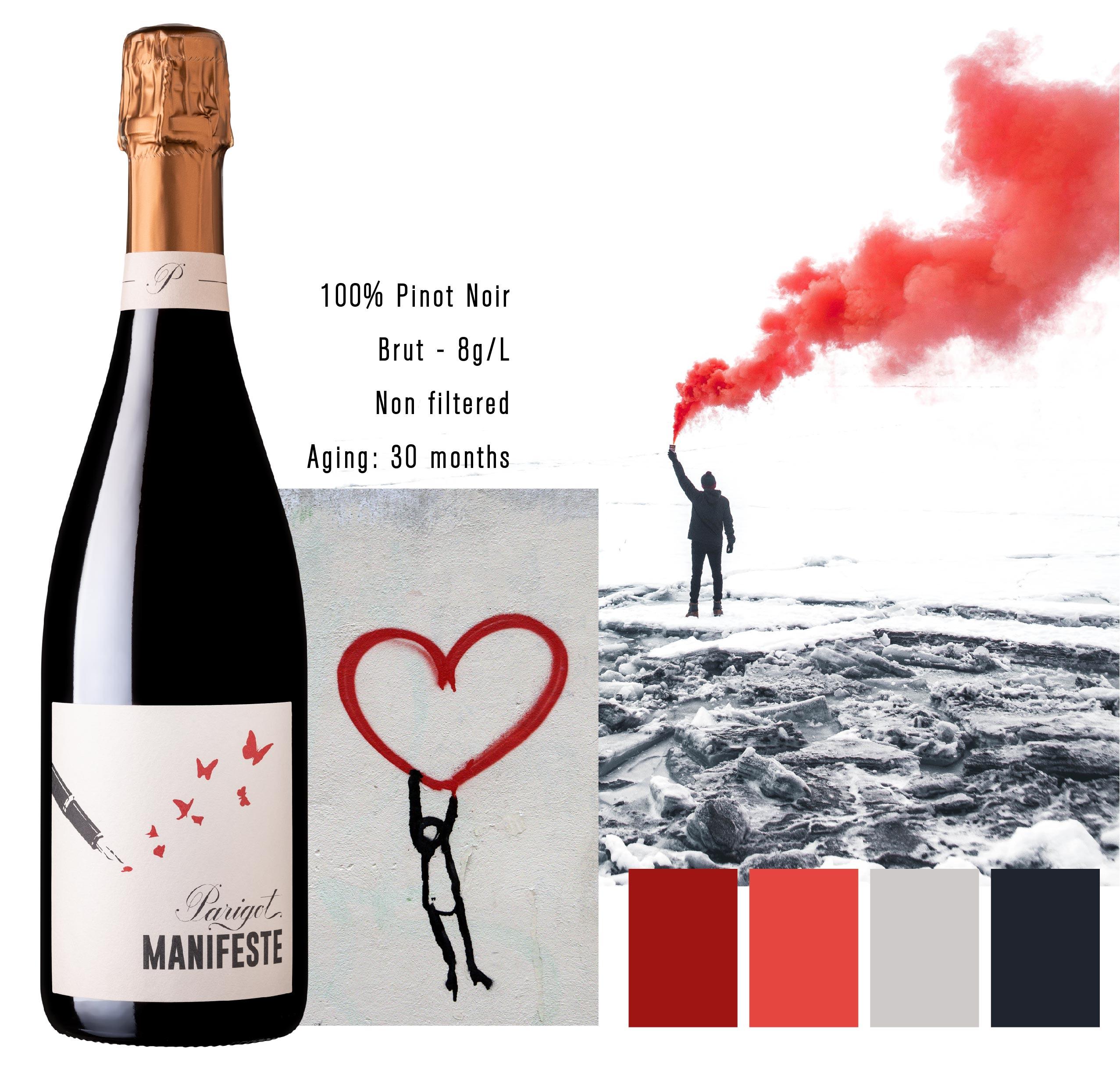 Parigot Manifest Bourgogne Mousseux Rouge